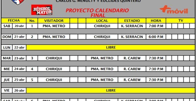 Calendario Final 2019.Revelan Calendario Para La Final Fedebeis